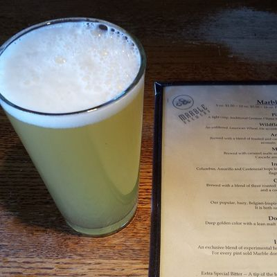 Can't ever turn down the Doublewhite Marblebrewery