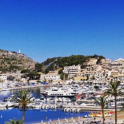 Good morning world, bon dia Mallorca! Vacationtweet Lifeisgood DailySeaTweet Portdesóller Mallorca Baleares Spain