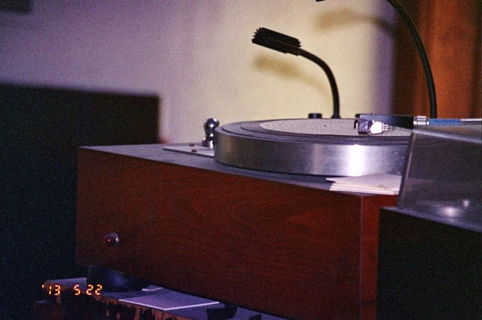 Date Stamp Carmel Highlands Music Musical Equipment Turntable Sound Recording Equipment Record Player Needle Film Koduckgirl Olympus 2013