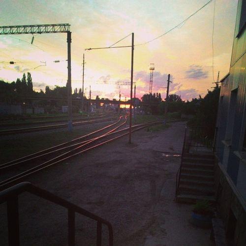 Рассвет в конце смены Urbanvrn Vpzht
