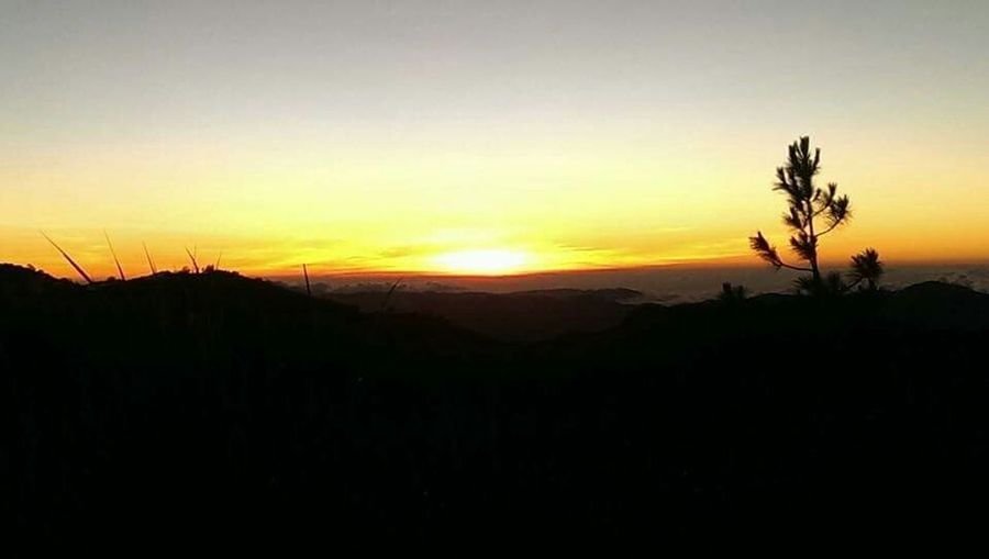No Filter Mt.pulag Sunset_collection Sunset Peak Mountain View Mountain_collection Sun Eyeem Philippines Nature