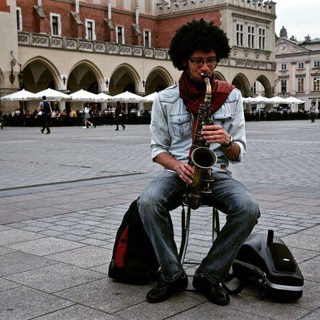 Krakow Staryrynek some like to create sounds.. some like to listen