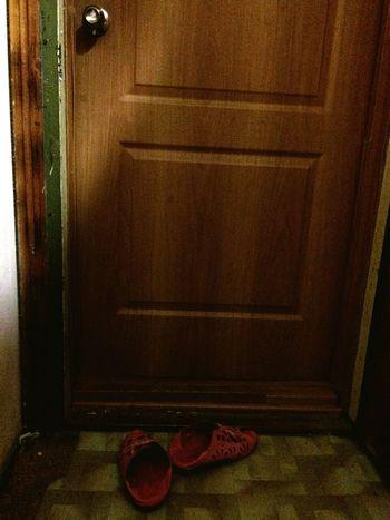 обувь старая обувь дверь Вход Door Shoose