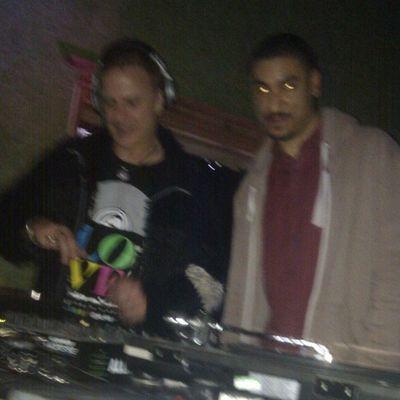 Beaming back2back with DJ Aztek