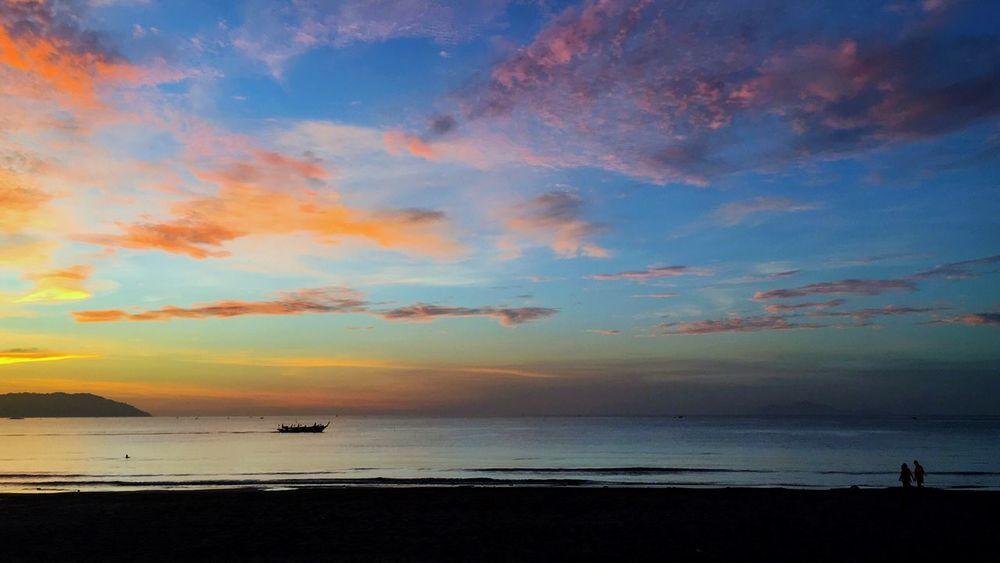 Beauty In Nature Beach Sunrise Mykhebeach Horizon Over Water Nature Travel Photography Danang, Vietnam Danang
