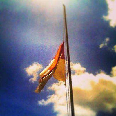 RIPIndonesiandemocracy Benderasetengahtiang Nationalflag