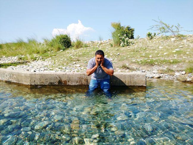 Water Lifestyles Lake Summer Waterfront Nature Beauty Canal Plant Moto X Play Pakistani Traveller Pakistan Tour Snapchat Selfies