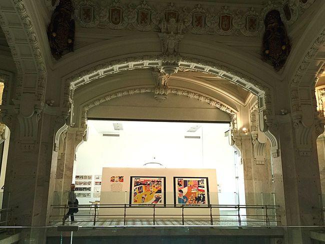 Exposición en el Ayuntamiento de Madrid. IPHONE