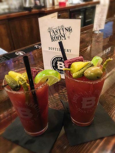 Bloody Marys Happy Hour Tasty Montana Bozeman Bozeman Spirits Drinks With Friends Drinks