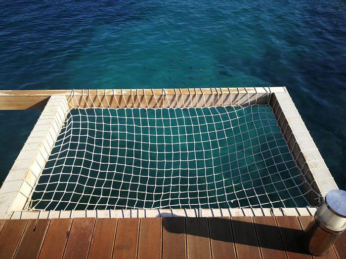 Summer pool holiday