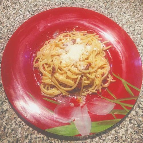 First dish ever. Moncooking Carbs Feelingchef