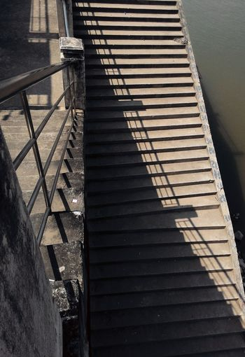 Street Style From Around The World Khong River Shadows & Lights Light And Shadow Stairs To Khong River Platform Stairs Platform Stairs & Shadows Streetart Streetphotography Light And Shadows Pattern, Texture, Shape And Form Abstract Photography