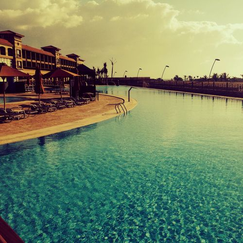 Egypt Lastwinter Memories Pool View