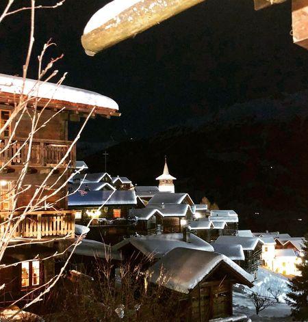 Switzerlandwonderland Switzerland Valais Val D'Anniviers Historic Village Valais Grimentz Night Architecture