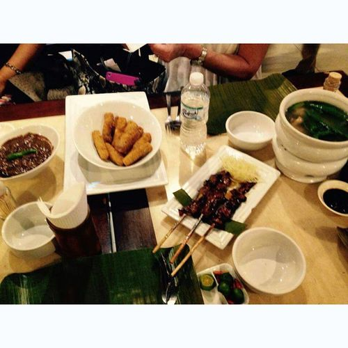 During lunch Awa Awesome pinoy food