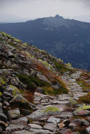Mountain path Karkonosze Landscape Nature No People Outdoors Path Shelter Silence Sudety Szrenica Travel Destinations