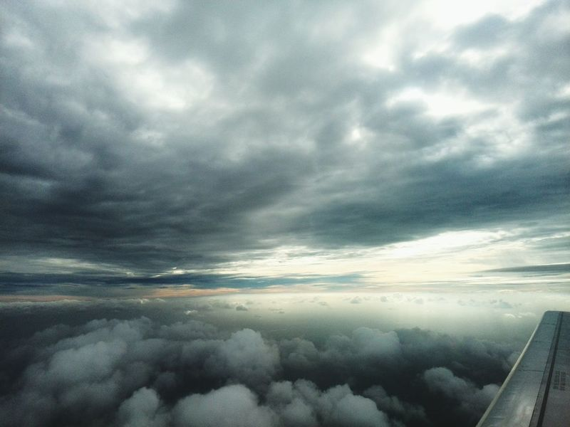 Fly Plane Clouds And Sky Memory Of Travel 2014