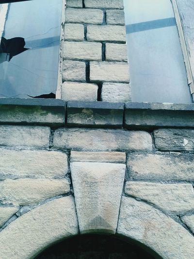 Stone Mill Waterhole Keystone Windows Broken Glass Derelict Mortar Cobblestones Creative Light And Shadow