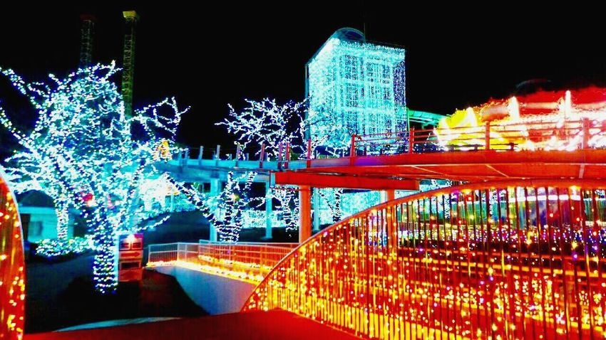 Illuminated Night Multi Colored No People Christmas Lights Motion Neon City Outdoors Speed Light Effect Architecture