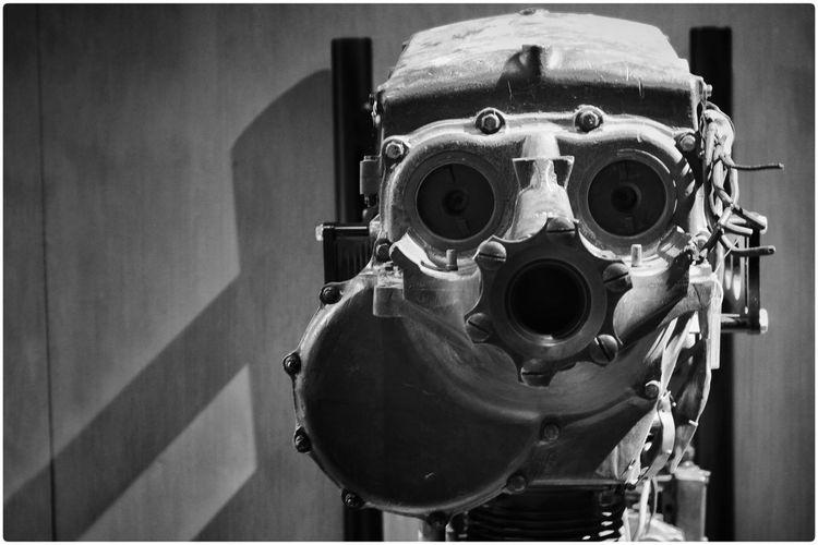 Close-up of robot