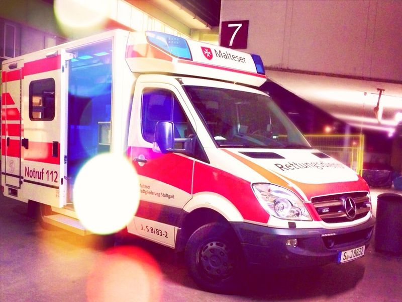 Streetphotography Ambulance Emergency Germany