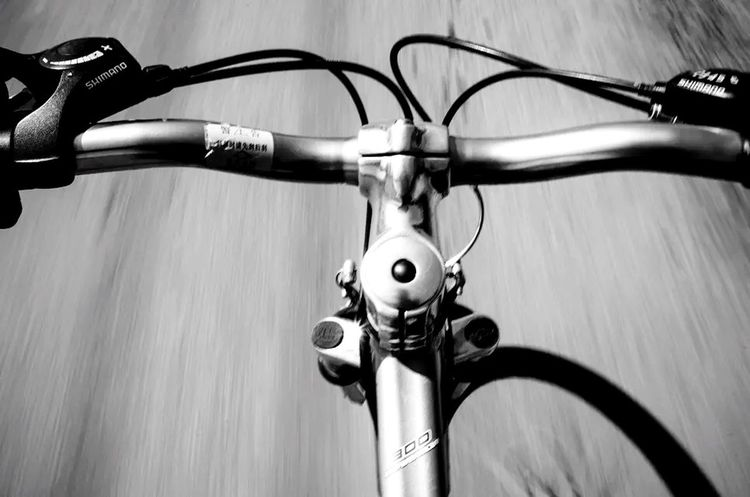 New start Hanging Out Relaxing Light And Shadow Bike Taking Photos On The Road Blackandwhite