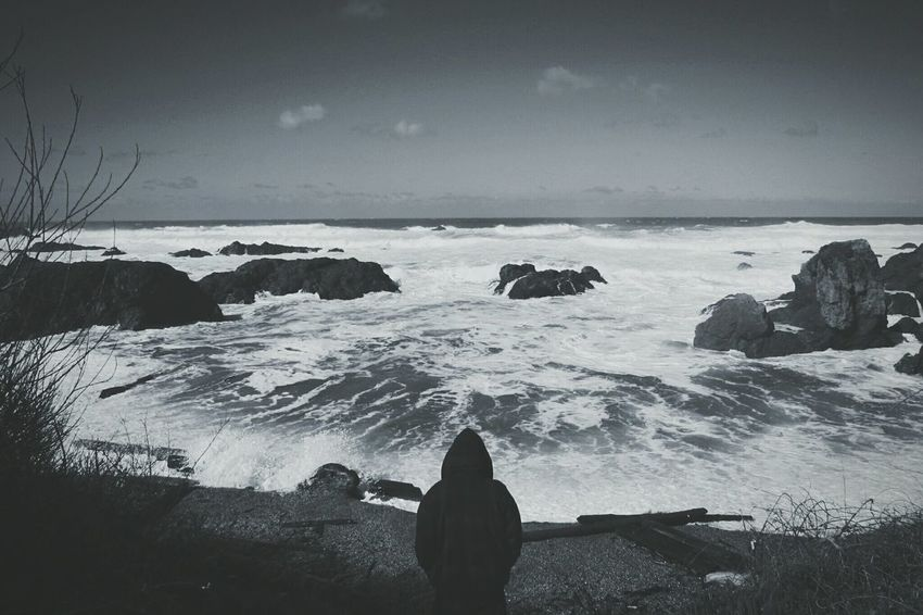 Shades Of Grey Nature_collection Blackandwhite Photography Ocean_Collection ~~ Coastline Creative Shots Eyem Nature Lover Landscape_photography Manvsnature  Hightides California Dreamin