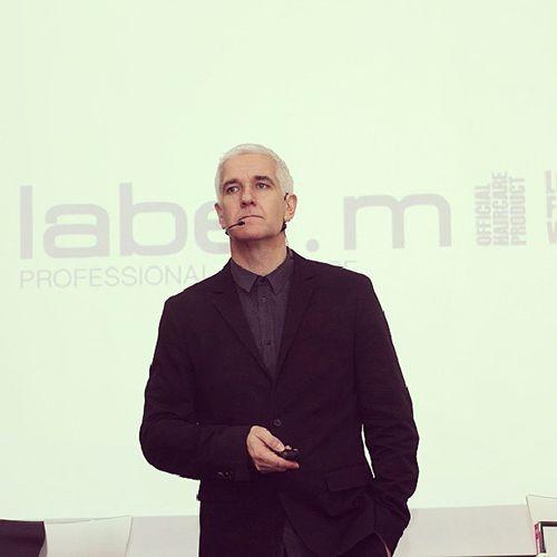 Eamonnborham during Labelm education seminar in Tel-Aviv 21.10.2013
