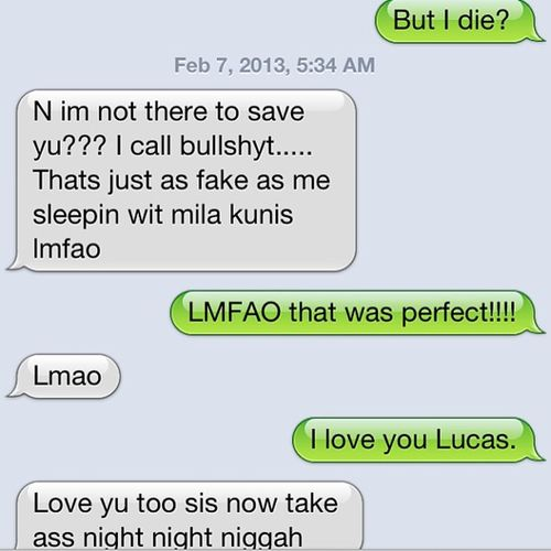 ? The man has a point!! Fakedream Milakunis Bestfriend Perfect !! ❤