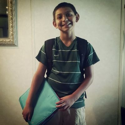 First day of Junior High.