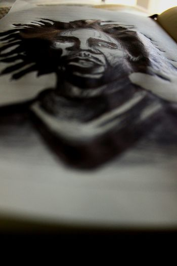 Drawing the legend Bobmarley Thelegend Photodraw