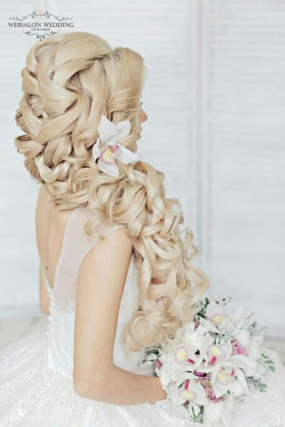 Blonde Hair Long Hair Hairstylist Fashion Hair Indian Wedding Weddinginitaly Wedding Hairdresser Hairstyle
