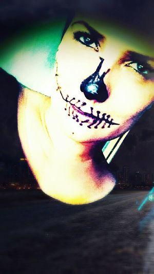 I Am The Devil ... Calaveras My Portrait Portrait Of A Woman