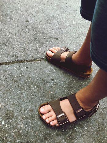 EyeEm Selects EyeEmNewHere Human Leg High Angle View Sandal Shoe Child Foot