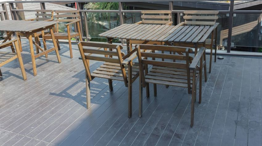 Chair Chair Chair And Table Chair Art Chair Design Chair In Garden Chair Wood Chairs Chairs And Tables Chairs Seats Day Decor Decorated Decoration Decorations Decorative No People Outdoors Seat Seating Seats Sitting Table Table And Chairs Tables