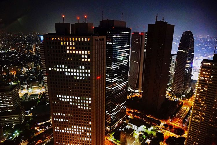 Tokyo Tokyo,Japan Midnight Creative Light And Shadow Cityscapes Architecture STLSQA Midnight In Tokyo
