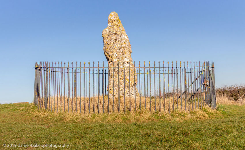 No People Nature Day Sky Land Landscape Clear Sky Outdoors Neolithic Stones Rollright Stones King Stone