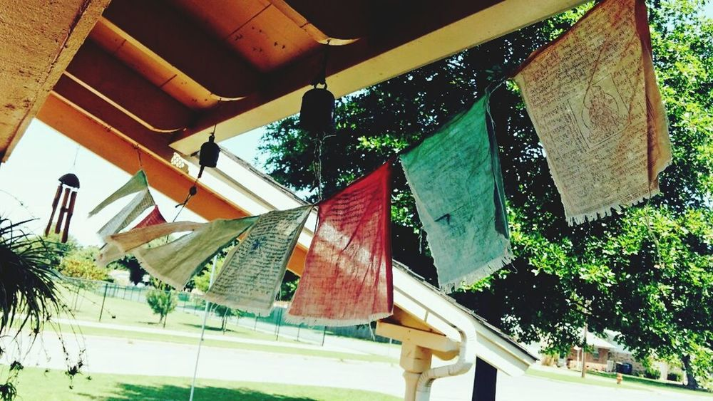 Breeze feels nice and peace in my ears Tibetan Prayer Flags Peaceful Breeze