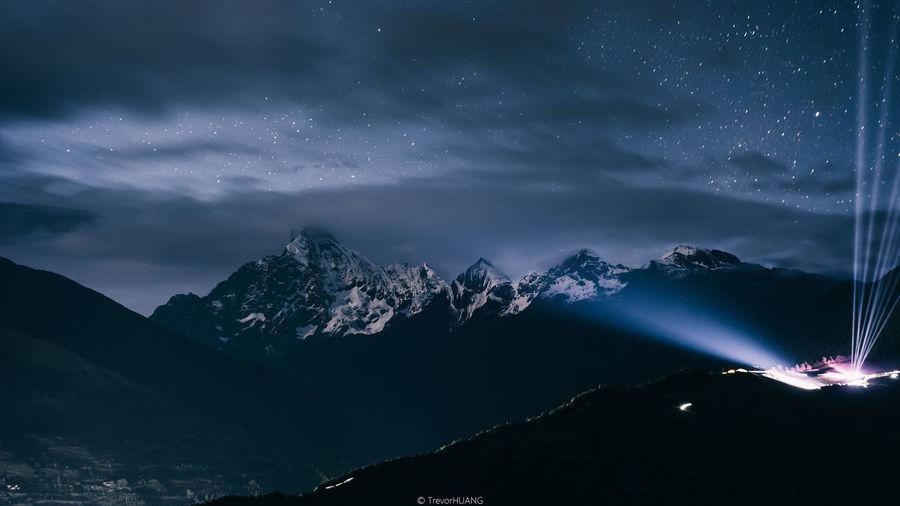 Night of mount