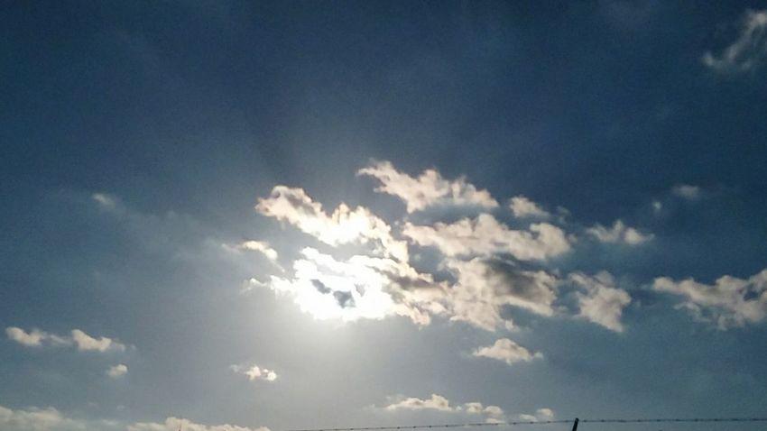 winter sky in southern cali, mid February Sky And Clouds Sunlight Sunlight Blue Sky Sunbeam Sunlight And Shadow Mid Day Sun And Clouds