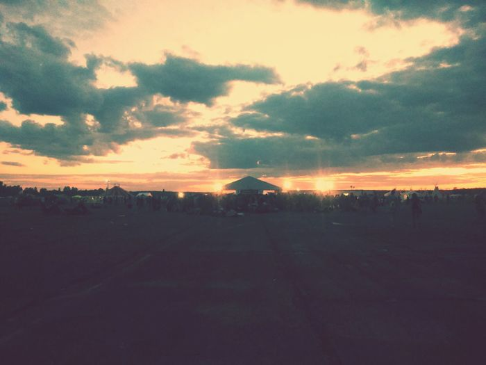 Music Festival Letiste Let It Roll Milovice Czech Republic Summer2015 Sky And Clouds First Eyeem Photo