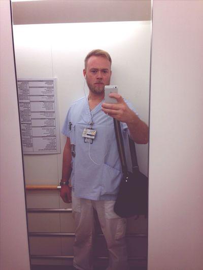 Nurse Hospital ICU Scrubs