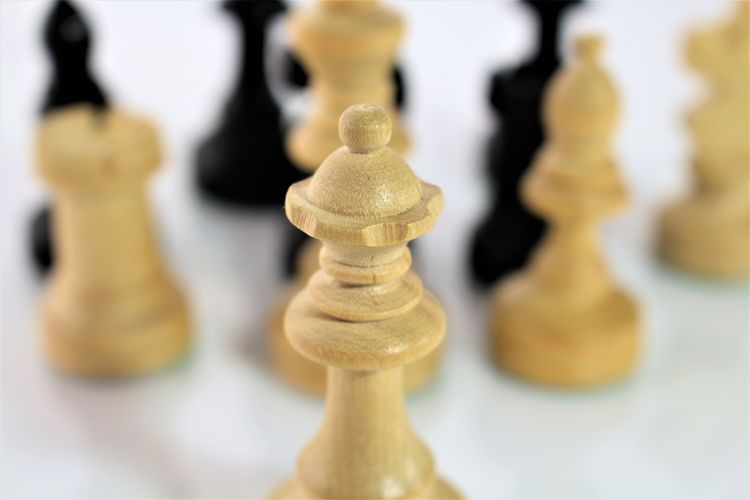 An concept image of chess figures Chess Chess Board Chess Piece Close-up Concept Indoors  King - Chess Piece Knight - Chess Piece Leisure Games Pawn - Chess Piece Queen - Chess Piece Strategy