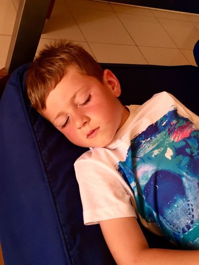 Asleep Real People Indoors  Childhood Boys Sleeping Nap Time Holidays Portugal Casual Clothing Eye4photography