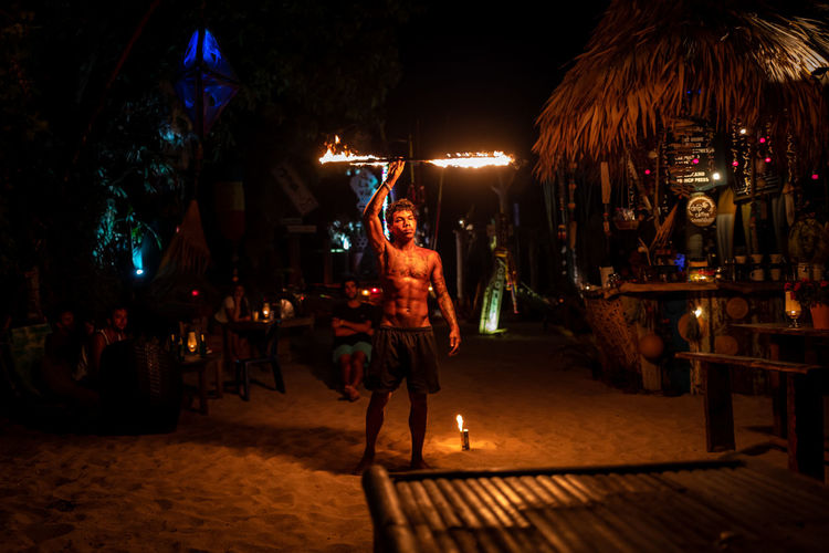 Koh Lipe Night Illuminated Real People Group Of People City Street Architecture Adult Women Crowd Men Large Group Of People Incidental People Leisure Activity Lighting Equipment Lifestyles Full Length Building Exterior Nature Nightlife