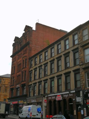 Architecture Building Exterior Built Structure Façade City Outdoors Low Angle View Travel Destinations Streets Of Glasgow Ghost Signs