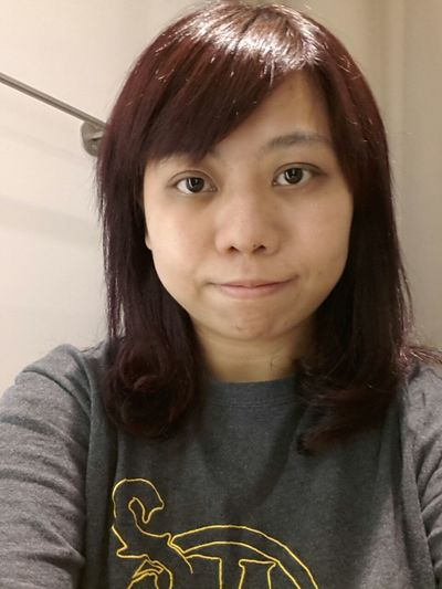 New hair style~