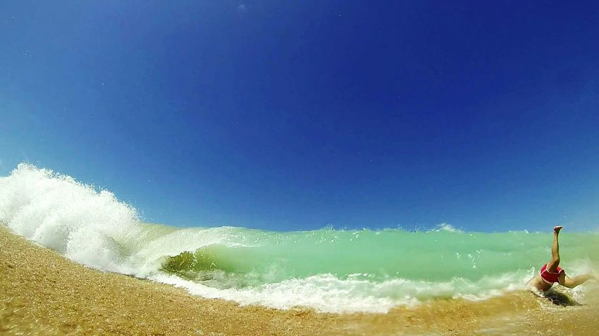 Halfman Trafalgar Cadiz Summer Views Shorebreak Gopro Gopro Hero3 First Eyeem Photo