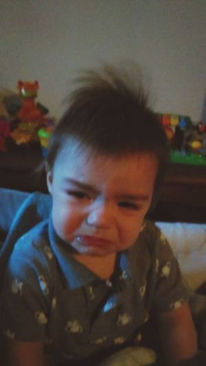 Sad Baby ! Funny Hair Style EyeEmNewHere