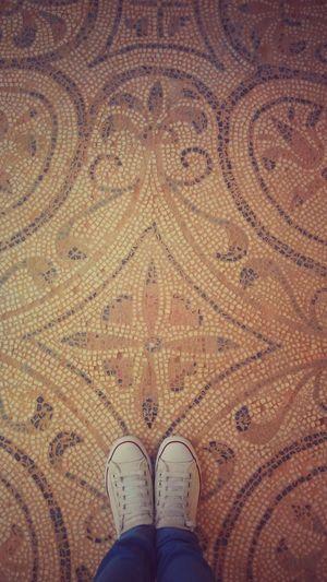 From_where_arabs_stands Tunisia El_jem Mosaic Floor Visit_tunisia